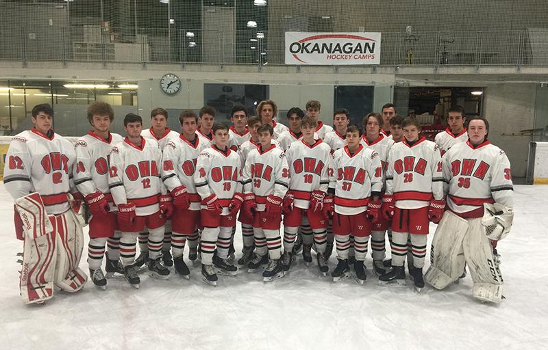 Team PhotoOHA UK Okanagan Ice Hockey Academy Junior UK