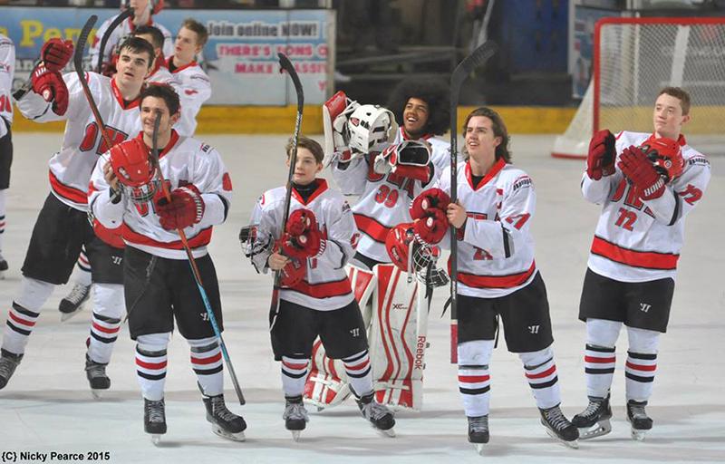 Team Photo Okanagan Ice Hockey Academy Junior UK