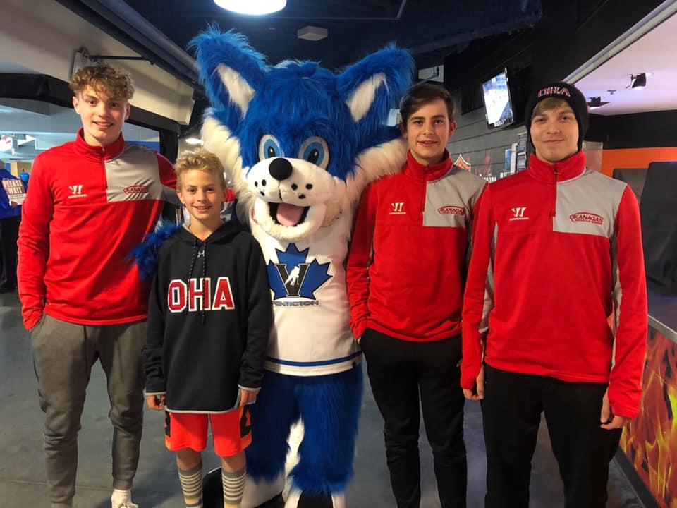 Okanagan Ice Hockey Academy Junior UK canada trip